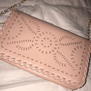 Pink cleobella look a like purse